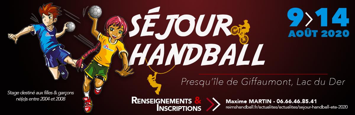 RCH Séjour Handball été 2020